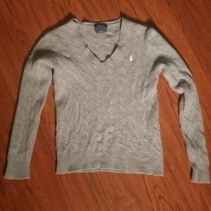 Polo Ralph Lauren Gray Long Sleeve Sweater SP